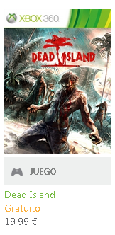 Dead Island Gratis por el Games with Gold