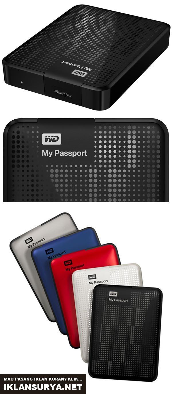 Western Digital (WD) 2 TB My Passport Mini Portable Drive