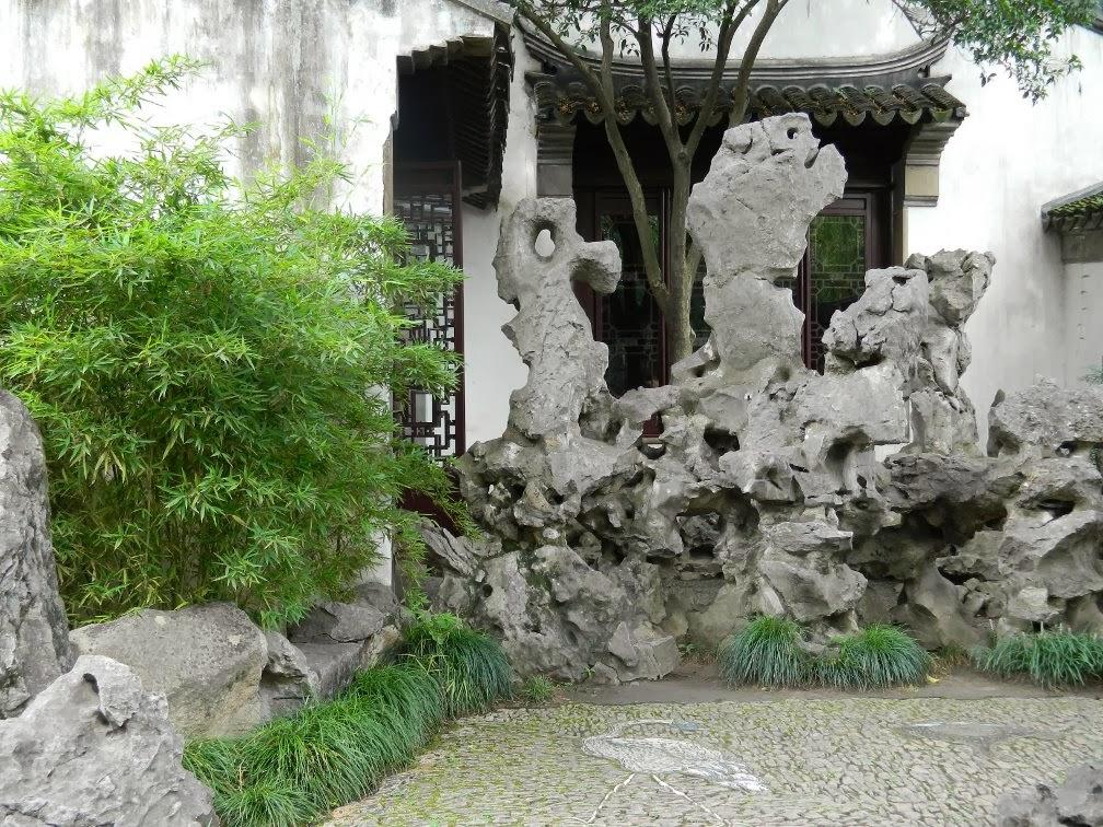 Lingering Garden in Suzhou rock garden by garden muses-Toronto gardening blog