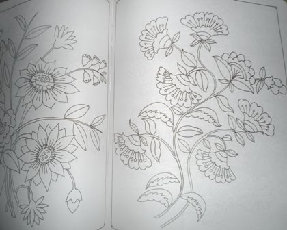 Floras Colors Embroidery Pattern Book Give Away