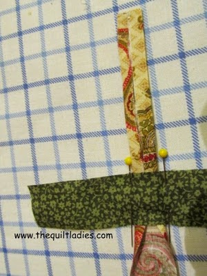easy way to make bias tape
