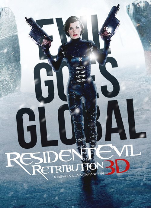 Really. apologise, Resident evil retribution movie what
