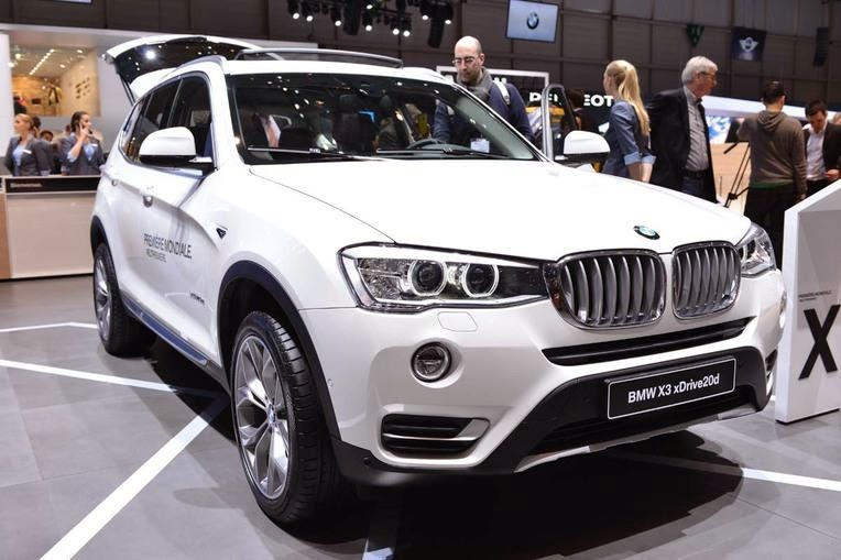 carros 2014 BMW X3 facelift bmw sedan
