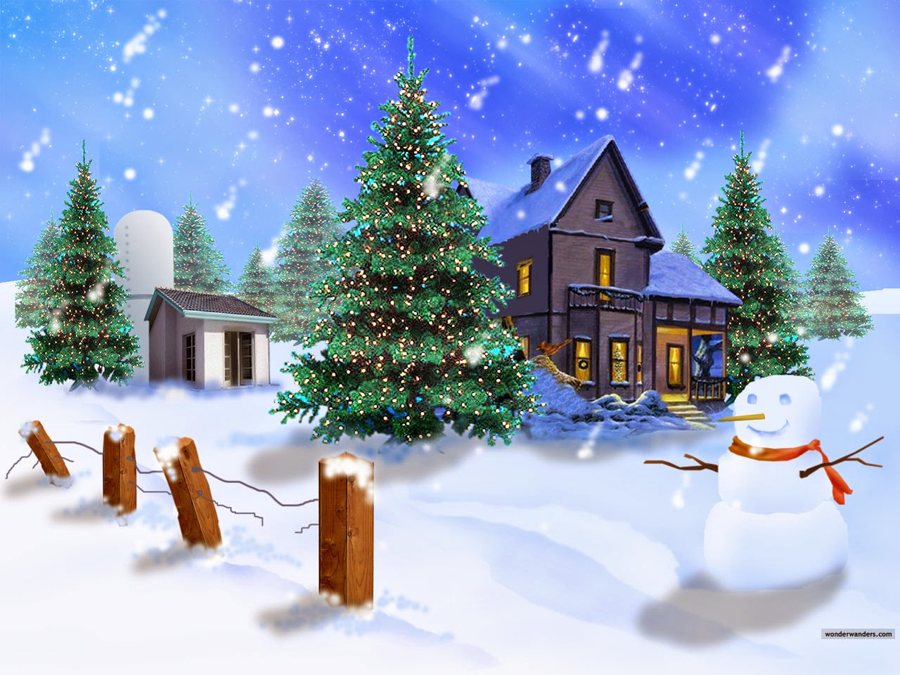 Christmas Wallpaper | Free Style Wallpaper