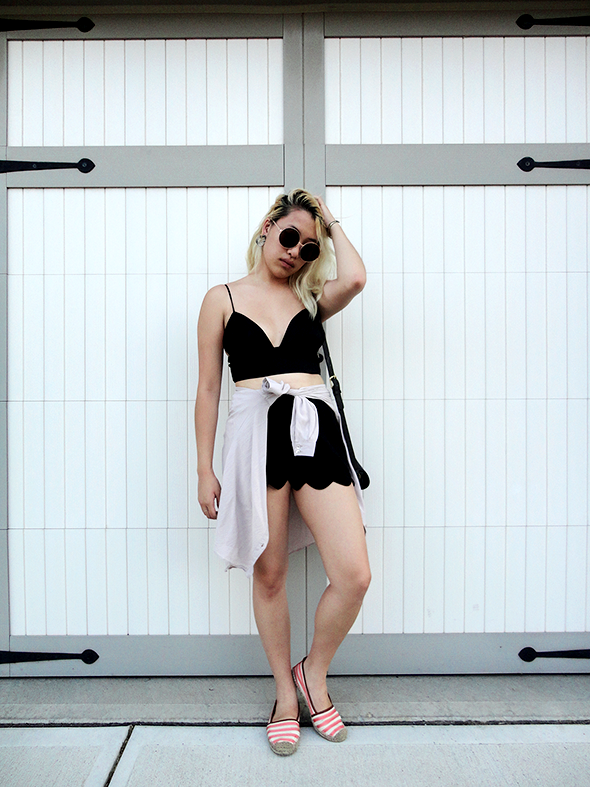 fashion, cropped top, urban outfitters, out from under, fashion blogger, likkie, likkie xiong