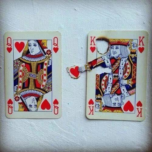 Te regalo mi corazón (naipes)