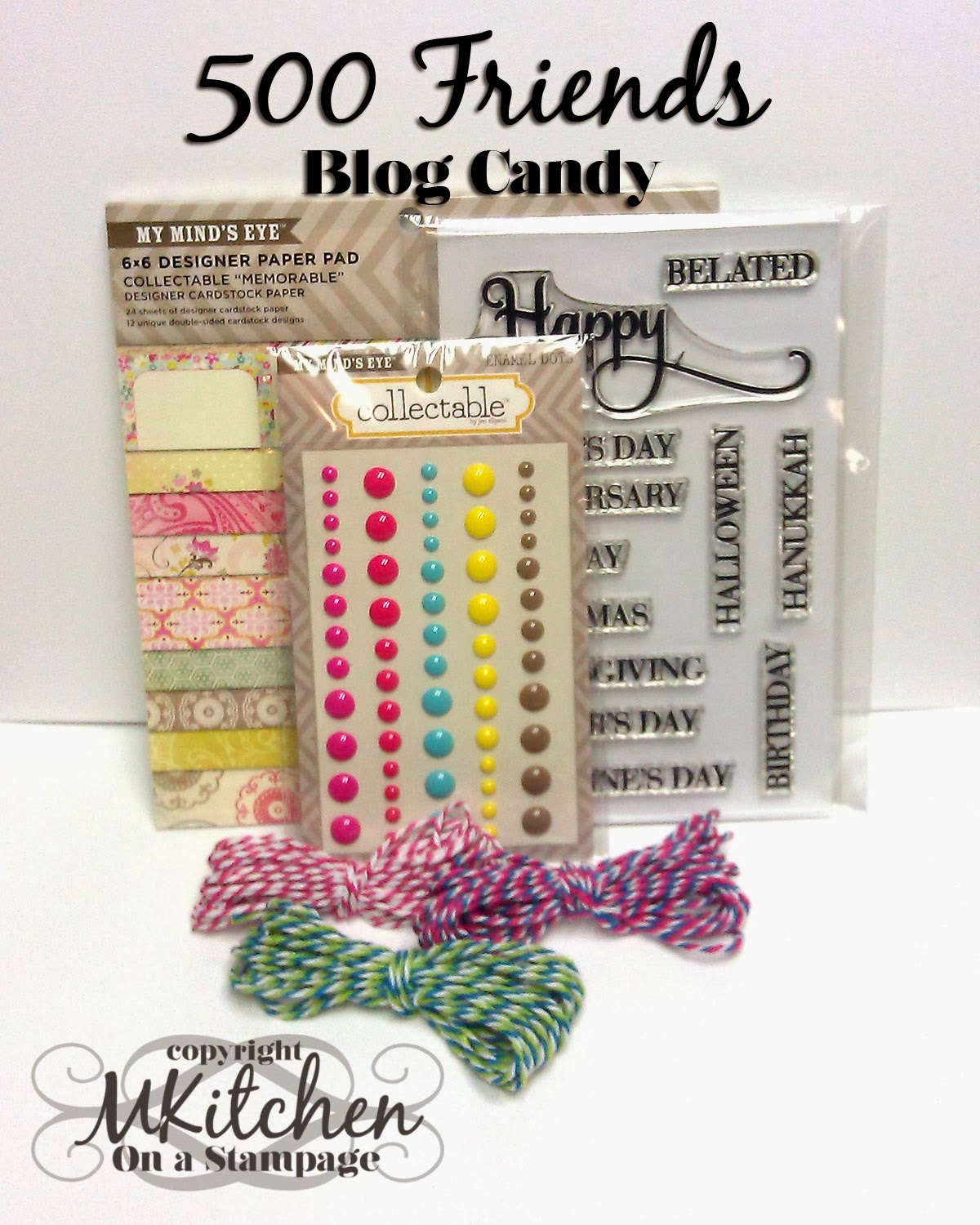 Blog candy from Mynette !