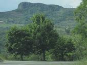 Le rocher de Gourdon  Ardeche