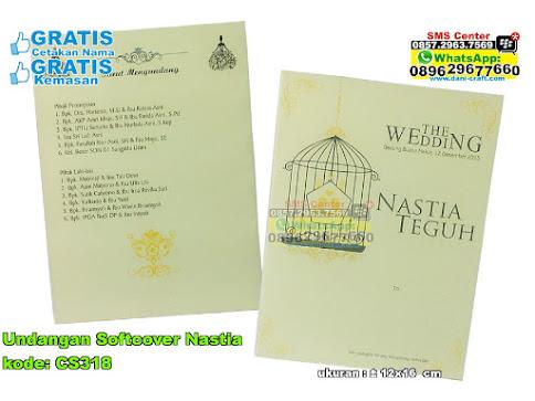 Undangan Softcover Nastia