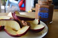 Apples with Pacific Beach Peanut Butter