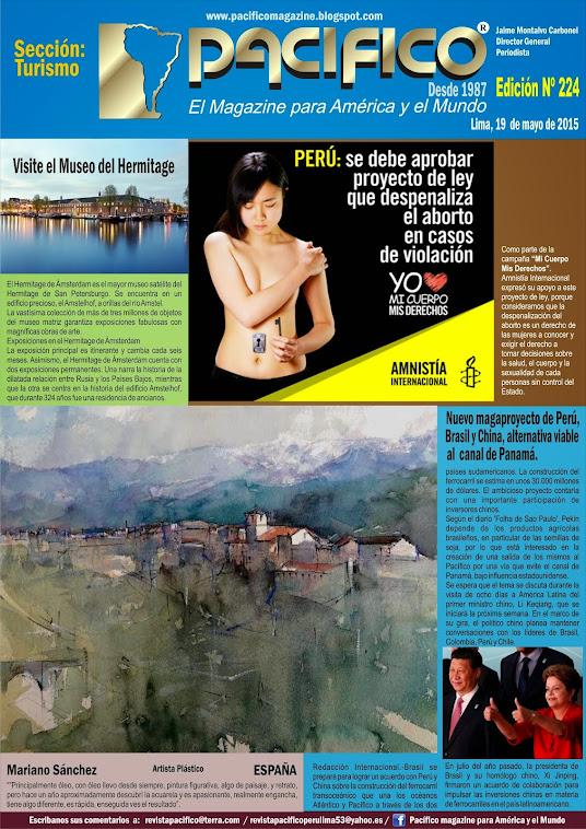 Revista Pacífico Nº 224 Turismo