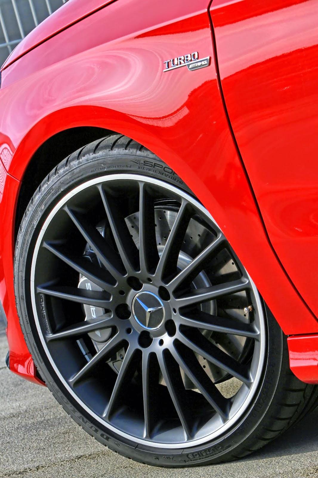 a45 amg wheels
