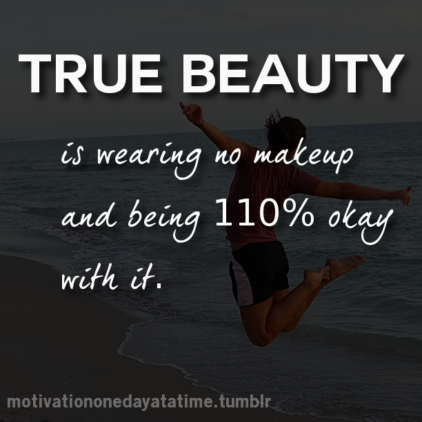 Makeup Vs Natural Beauty