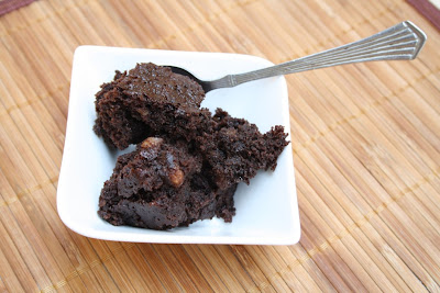 Microwave Chocolate Brownie