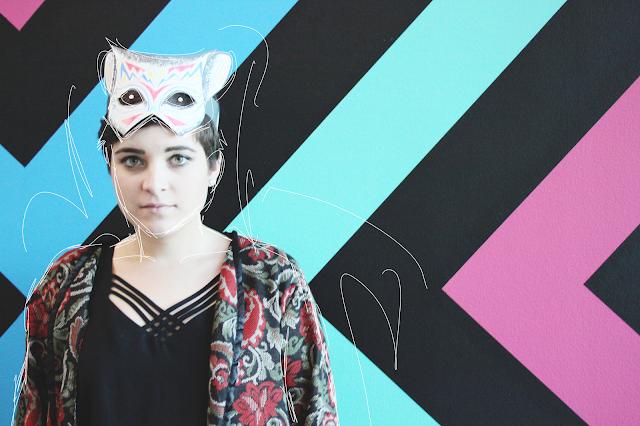 Brisbane, Australian blogging, trendy Brisbane, GOMA, face mask