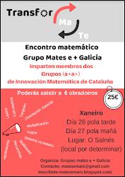 """Jornada """"Mates e+Galicia"""""""