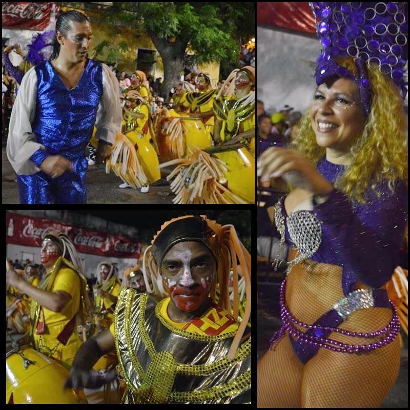 Carnaval. Desfile de Llamadas.Integración.
