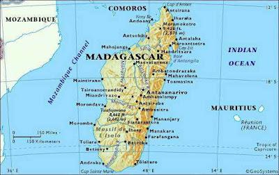 Maps of Madagascar