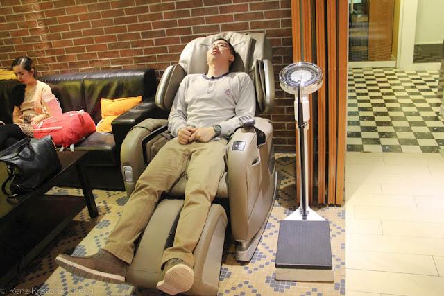 Yesinn Hostel Massage Chair - Causeway Bay