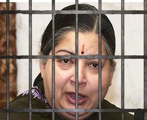 Jayalalithaa jailed for 4 years, fined Rs 100 crore