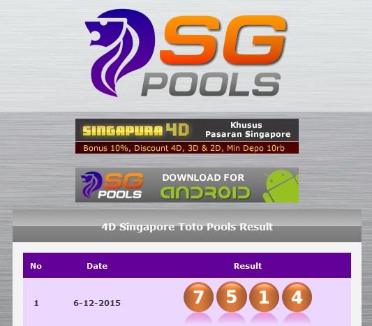 Hasil Togel Singapura45 Senin 27 Februari 2017