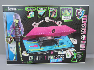 A Review Of The Create A Monster Design Lab For Monster High The