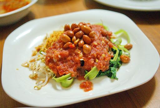 Kuliner Khas Lombok, Plecing Kangkung