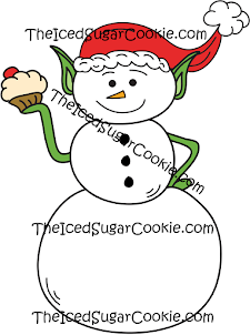 Commercial Business Use Snowman Illustrations