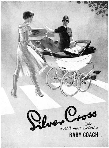 Silver Cross vintage ads