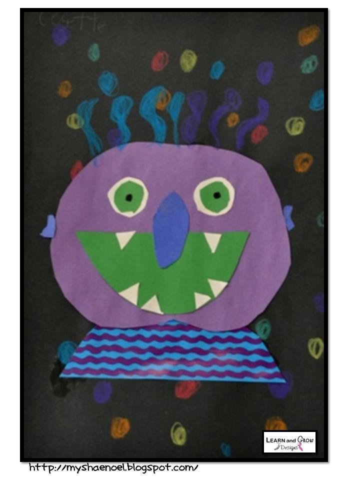 Glad Monster Sad Monster Printables Here is The Quot Glad Monster Sad