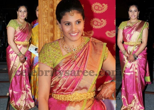 Kanchi Saree Thread Work Blouse