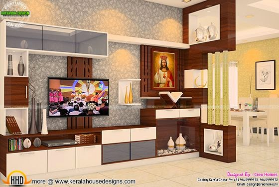Prayer + TV unit