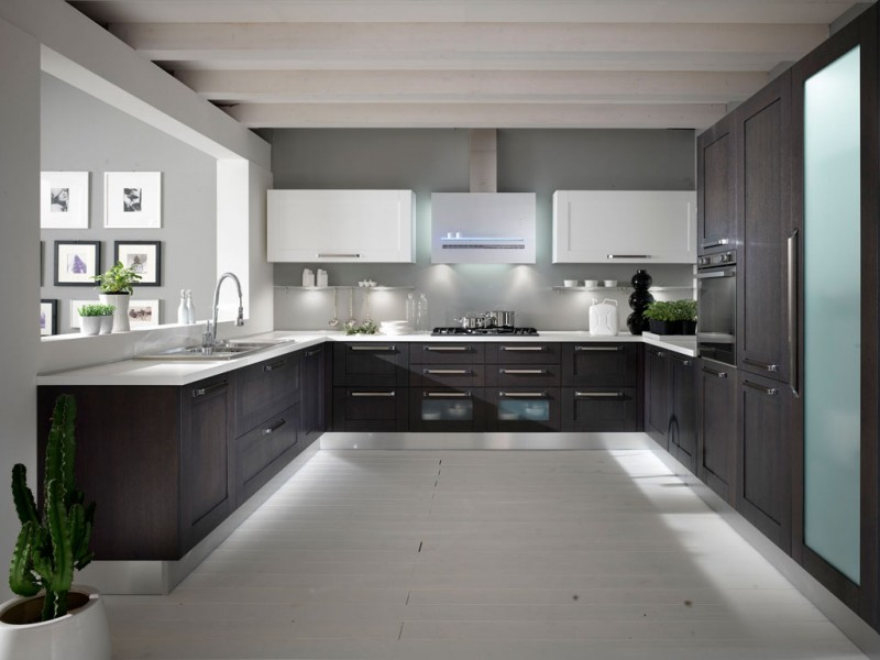 Interiores y 3d c mo distribuir una cocina - Cocinas en u modernas ...