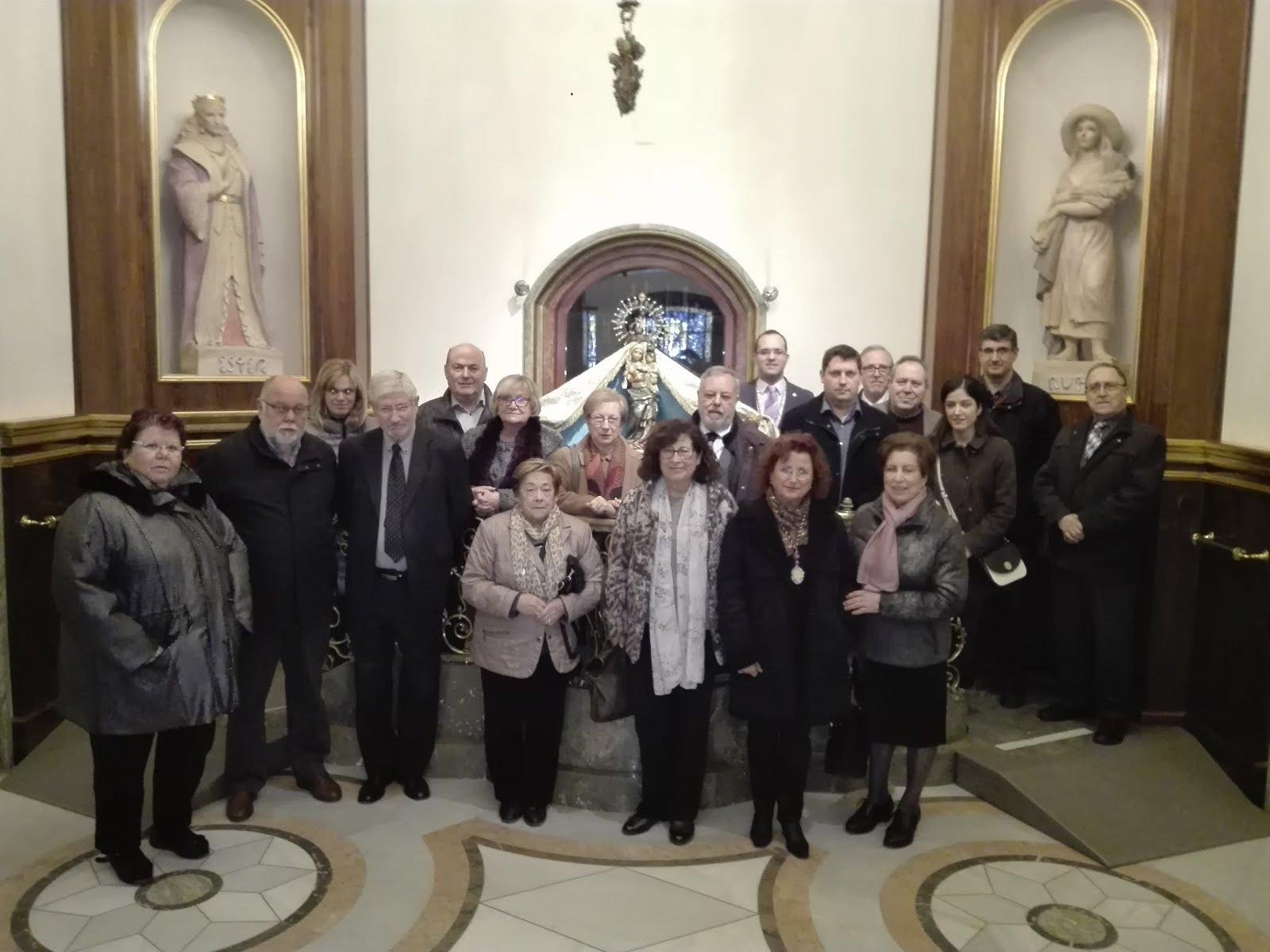 Peregrinació de la Pia Germandat de St. Isidre i Sta. Llúcia (18-12-2016)