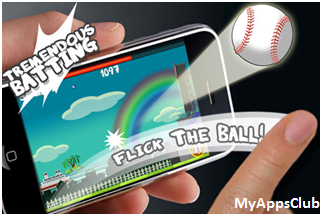 Flick Home Run Screenshot