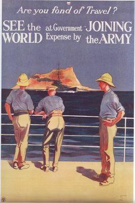 Britsh army poster