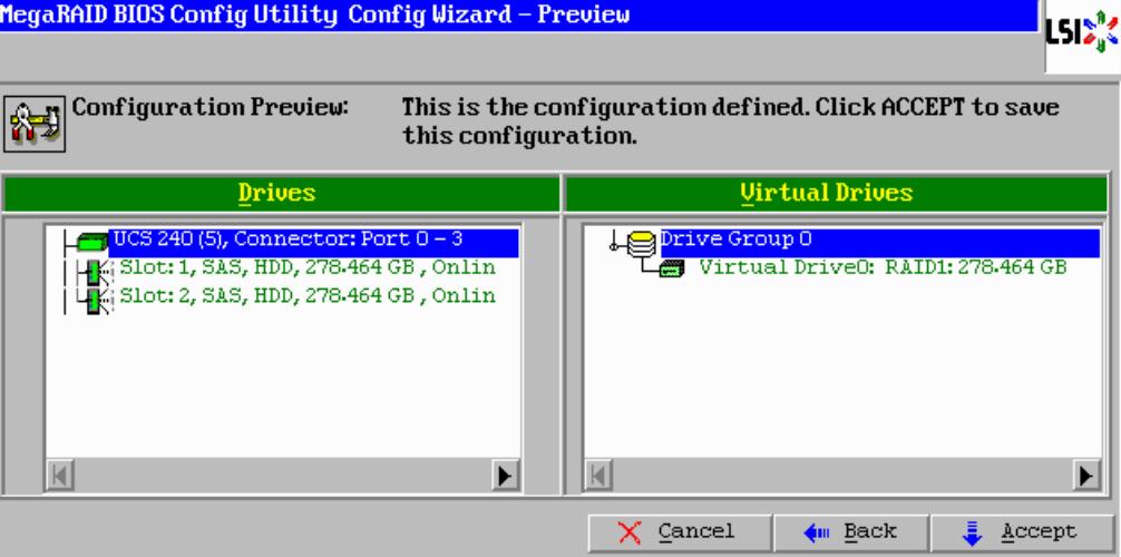 MEGARAID BIOS Configuration Utility