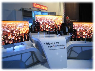 Samsung OLED TV CES 2012
