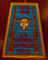 Mormon Battalion Trail Patch