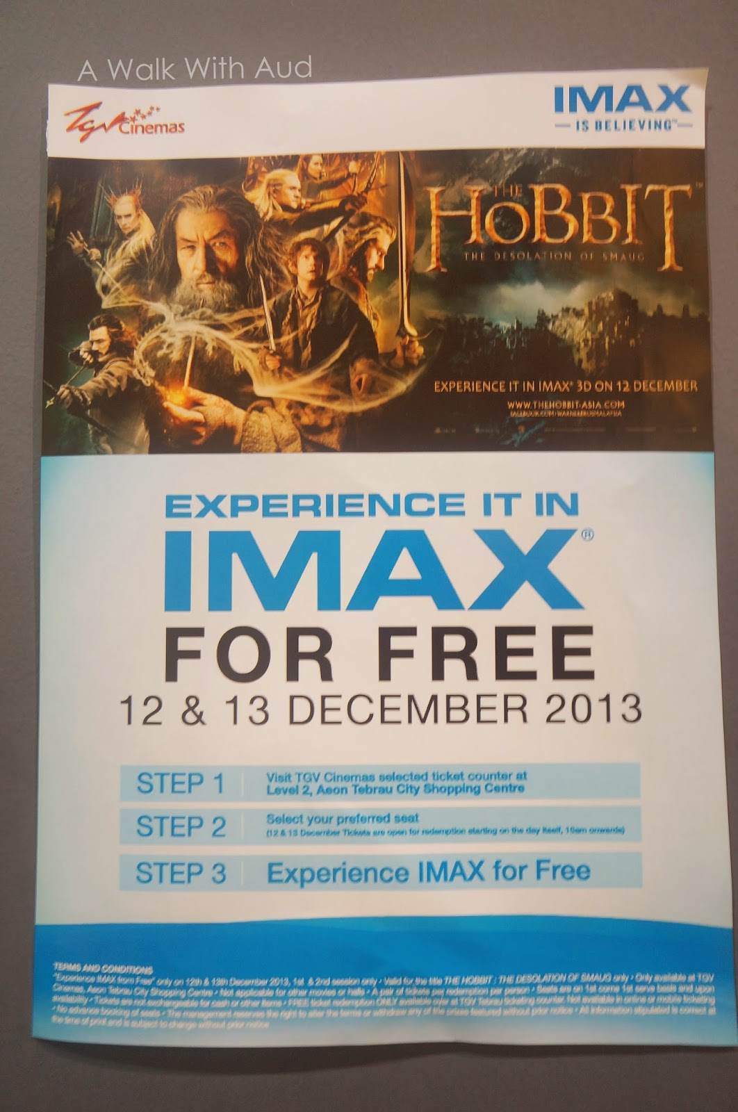 Ideal first imax brought to you by tgv johor