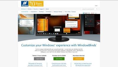 WindowBlinds, Desktop Widget