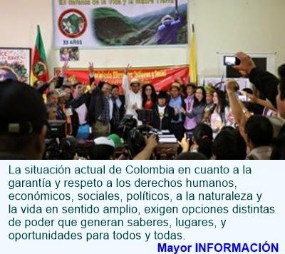 COLOMBIA: MAIS y PROGRESISTAS sellan alianza por el futuro de Colombia