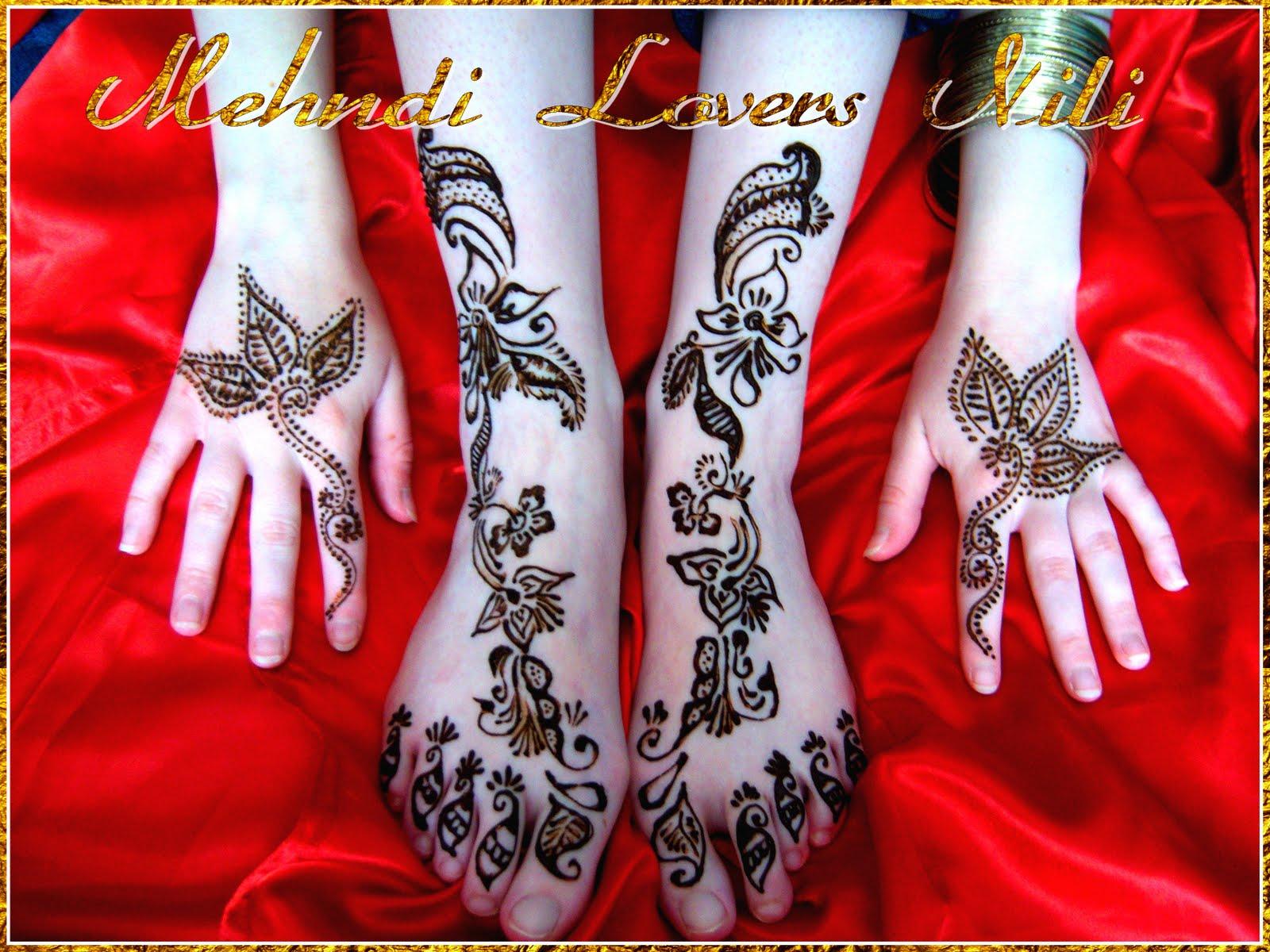 Mehndi Party N Wedding : Stylish mehndi designs for girls wedding by