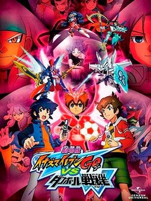 Ver Inazuma Eleven Go vs Danball Senki W Online