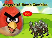 Angry Birds Bomb Zombies