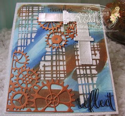 steampunk with memory box dies aerial view