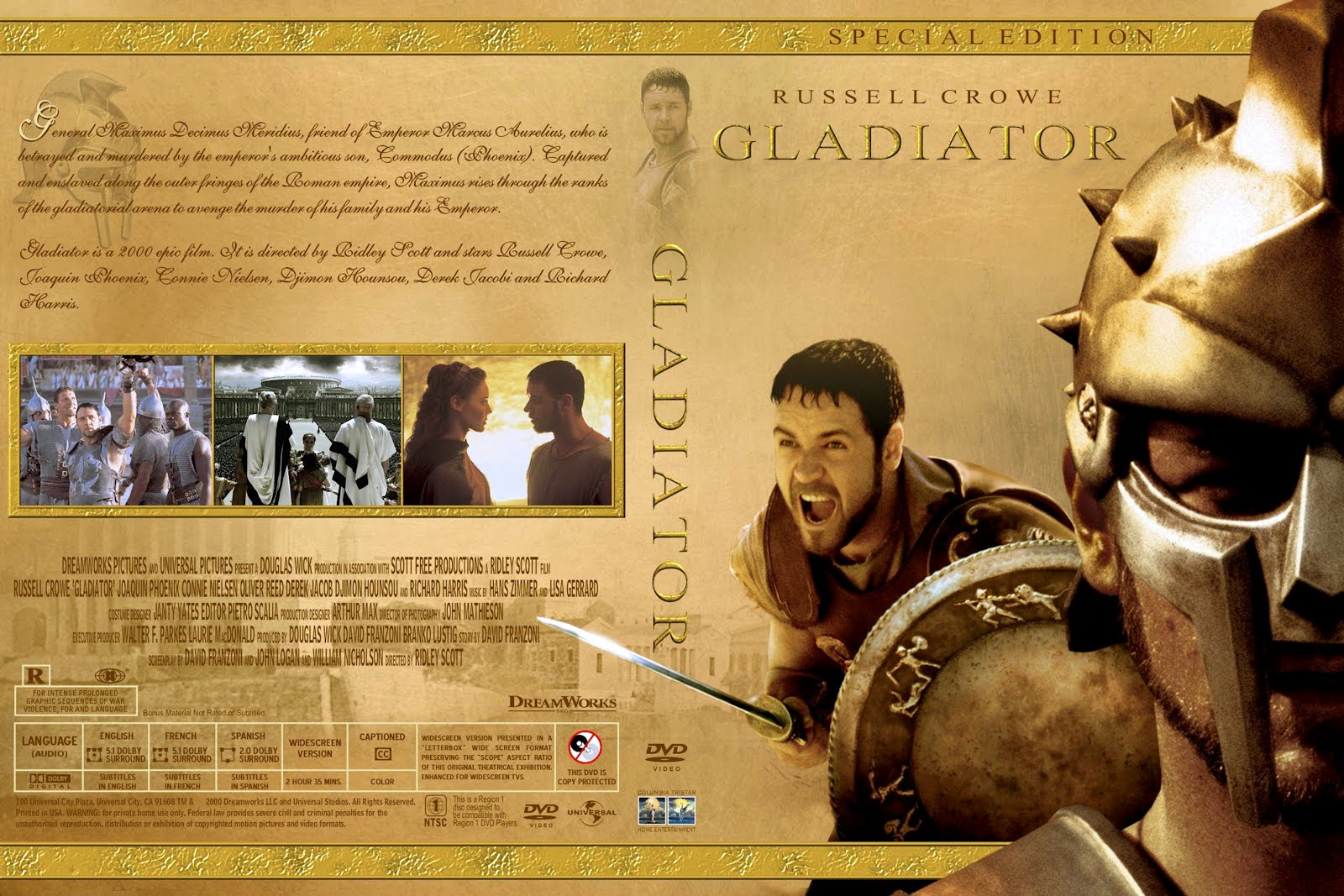 Gladiator eroticus softcore photo