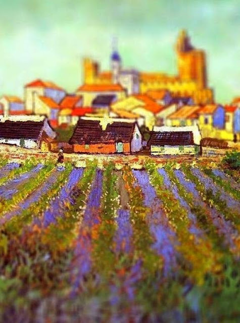 vincent van gogh, tilt shift effect, tilt shift photography, tilt shift photos, tilt shift pictures, van gogh museum, van gogh ear, gogh,