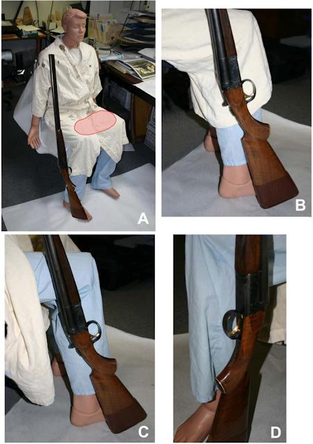 gun shot residue thesis