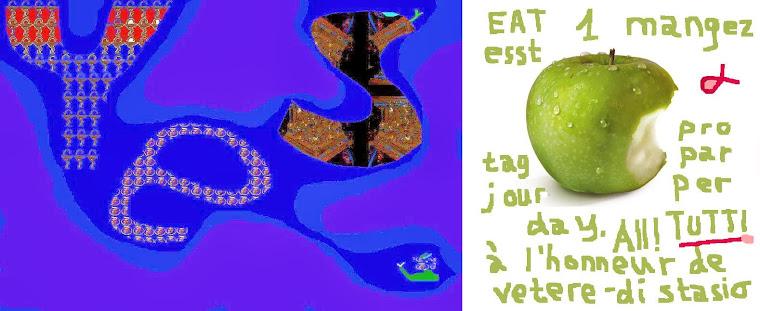 solution eat one apple per day - solution mangez une pomme par jour - lösung esst 1 apfel pro tag